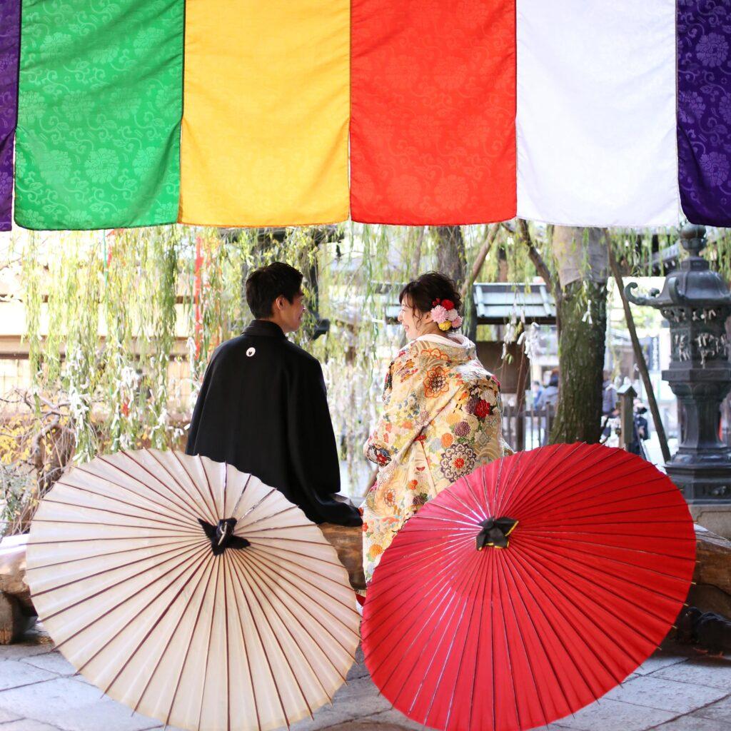 京都ならではの神前式